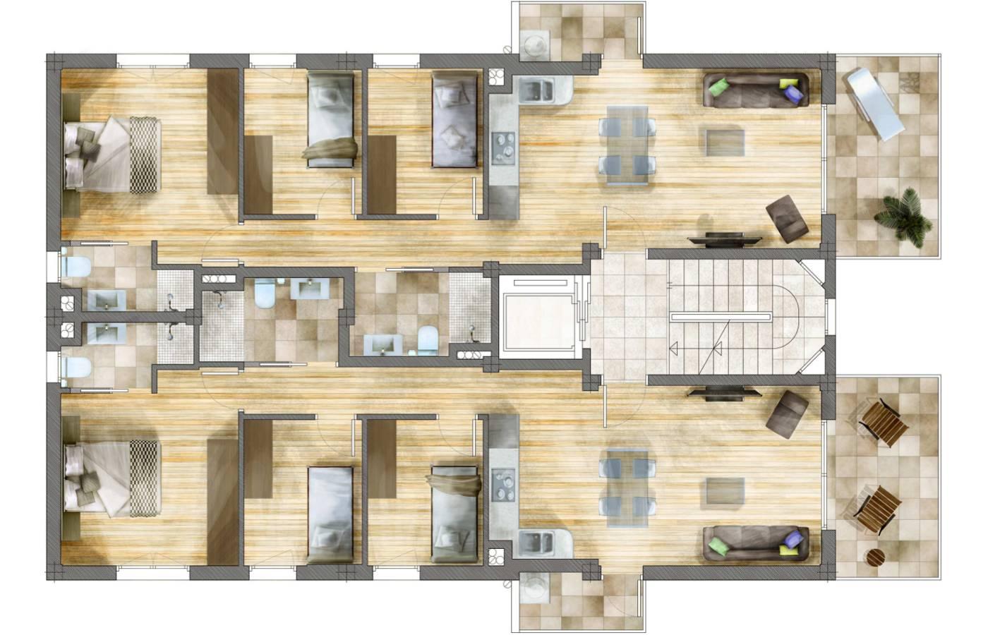 Edificio macarella promoci n pisos obra nueva en santa pola - Pisos obra nueva alicante ...